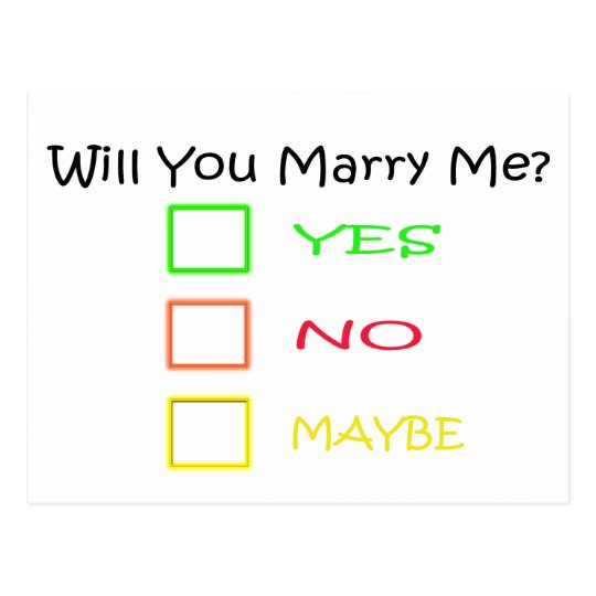 Will You Marry Me By Shirley Taylor Postcard