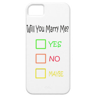 Will You Marry Me? iPhone 5 Case