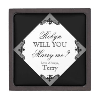 Will You Marry Me? Custom Ring Box for Proposing