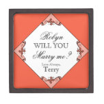 Will You Marry Me? Custom Ring Box for Proposing Premium Trinket Boxes