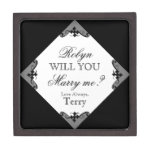 Will You Marry Me? Custom Ring Box for Proposing Premium Jewelry Box