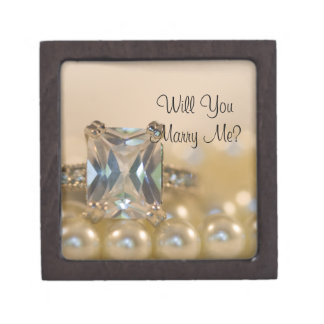 Will You Marry Me Engagement Ring Box Premium Gift Boxes