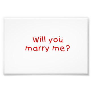 Will you marry me ? Gift Wrapper Magnet Pillow Pin Photo Art