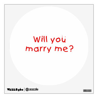 Will you marry me ? Gift Wrapper Magnet Pillow Pin Wall Graphic