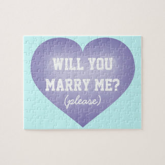 Will you marry me? heart puzzle