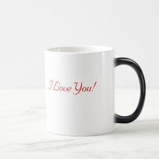 Will You Marry Me? I Love You! Coffee Mugs