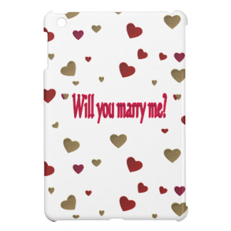 Will you marry me? iPad mini covers