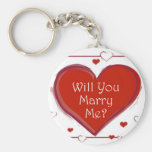 Will you Marry Me Keychain