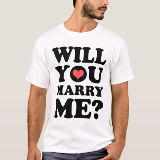 Will You Marry Me Light T-Shirt