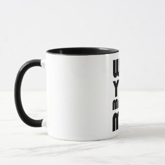 Will you marry me mug