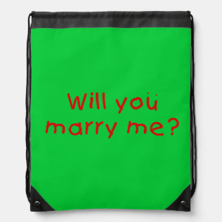 Will you marry me ? Mug Button Bags Keychain Watch Drawstring Backpack