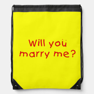 Will you marry me ? Mug Button Bags Keychain Watch Drawstring Backpacks