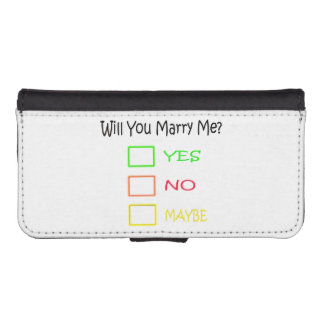 Will You Marry Me? iPhone 5 Wallets
