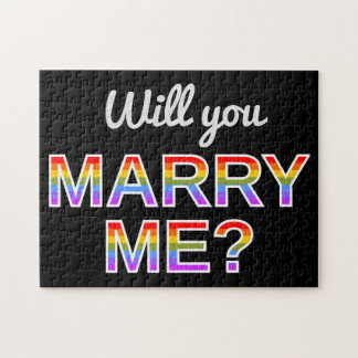 """""""Will you MARRY ME?"""" Puzzle"""