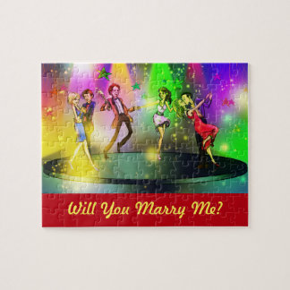 Will You Marry Me Puzzle (Dancing Scene)