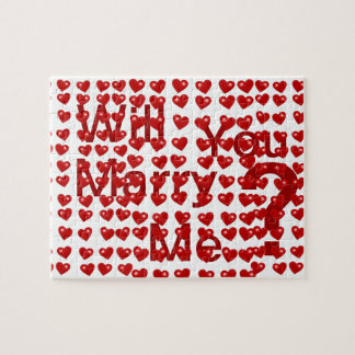 Will You Marry Me .Puzzle Jigsaw Puzzle