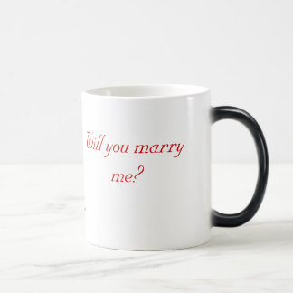 Will You Marry Me? (Right/Left) Coffee Mug