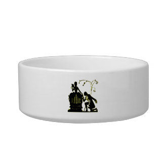 """Will you Marry me?"" Silhouette Bowl"