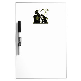 """Will you Marry me?"" Silhouette Dry Erase Board"