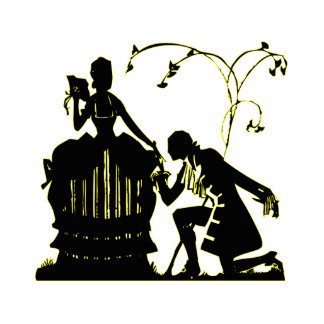 """""""Will you Marry me?"""" Silhouette Photo Cut Outs"""