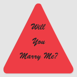 Will you marry me stickers
