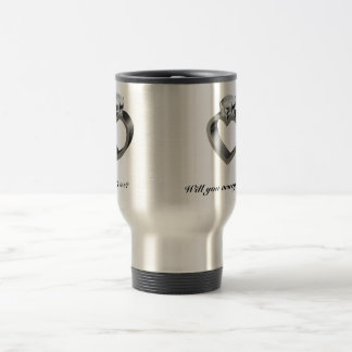 Will you marry me? travel mug