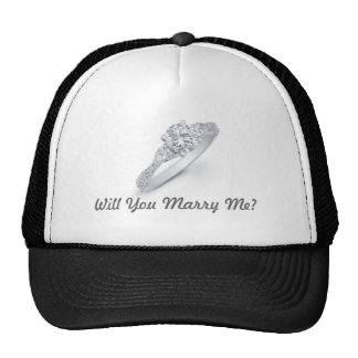 Will You Marry Me? Trucker Hat