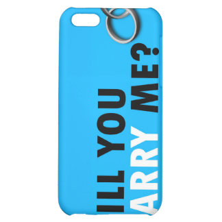 Will you marry me? with wedding rings Ipod 4 case Cover For iPhone 5C