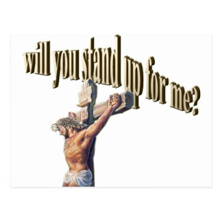 will you stand up for me postcard