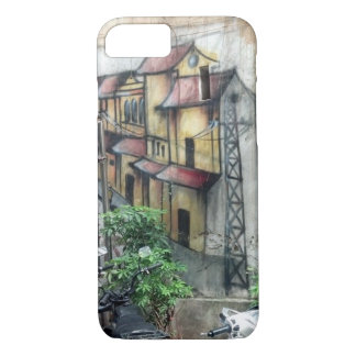 Will you travel with me? Hanoi Graffiti iPhone 8/7 Case