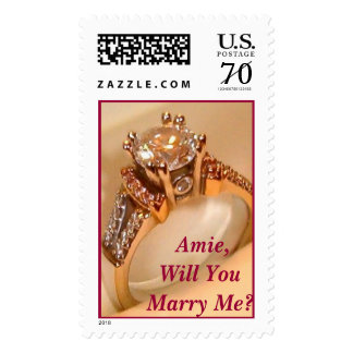 Will YouMarry Me? Stamp
