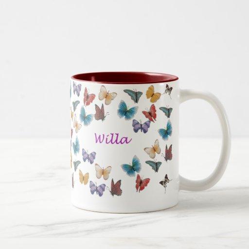 Willa Taza De Dos Tonos