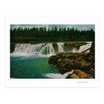 Willamette Falls in Portland Postcard