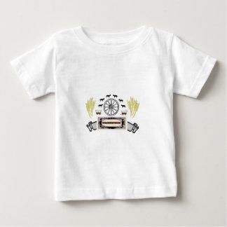 Willamette Valley Oregon Trail art Baby T-Shirt