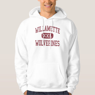 Willamette - Wolverines - High - Eugene Oregon Hoodie