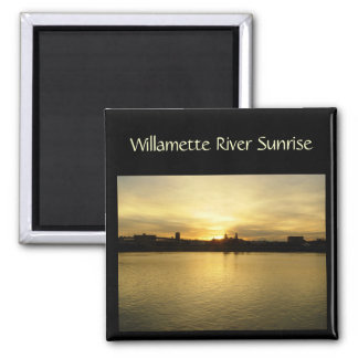 Willametter River Sunrise Magnet