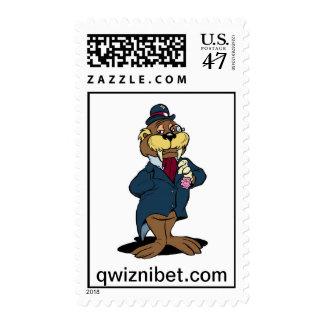 Willard E. Walrus | Classic Cartoon Stamps