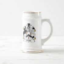 Willard Family Crest Beer Stein