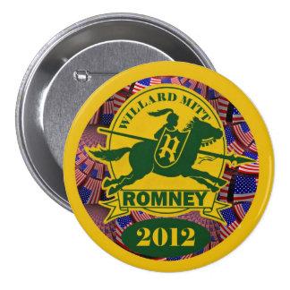 Willard Mitt Romney 2012 Pins