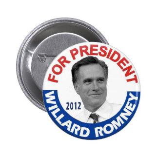 """Willard """"Mitt"""" Romney 2012 Button"""