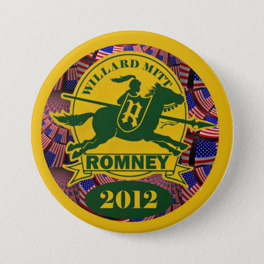 Willard Mitt Romney 2012 Pinback Button