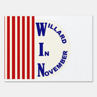 Willard (Mitt Romney) in November Sign
