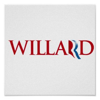 WILLARD ROMNEY.png Poster