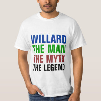 Willard the man, the myth, the legend T-Shirt
