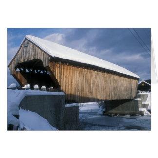 Willard Twin Covered Bridges Vermont Card