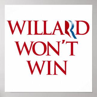 WILLARD WON'T WIN.png Poster