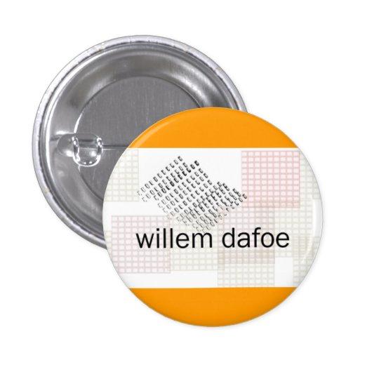 willem dafoe pinback button