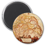 Willem Janszoon Blaeu Old German Map Collection Magnets