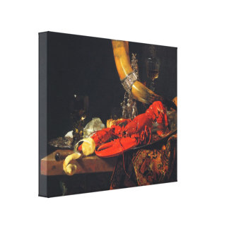 Willem Kalf - Still life Canvas Prints