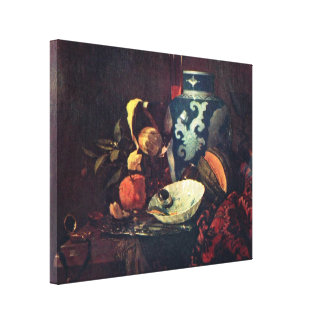 Willem Kalf - Still Life Gallery Wrapped Canvas